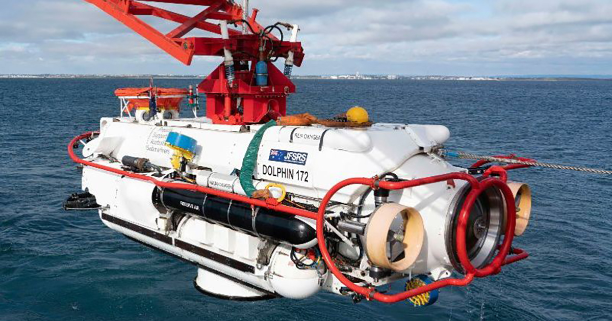 """JFD and RAN Complete the """"Black Carillon"""" 2018 Submarine Rescue Exercise"""