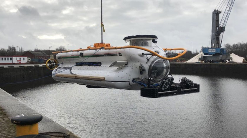 Delivery of JFD's 3rd Generation Submarine Rescue System