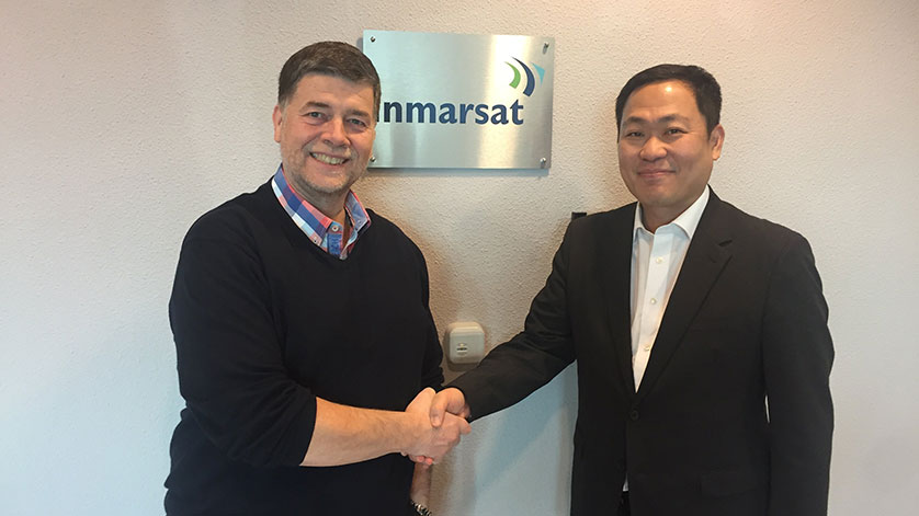 Intellian and Inmarsat to Enhance Inmarsat's FleetBroadband Service