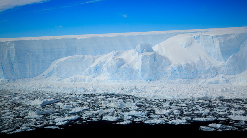 First Scientific Expedition to Newly Exposed Antarctic Ecosystem