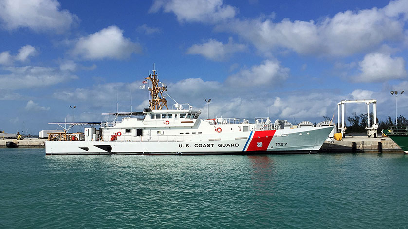 Bollinger Delivers the USCGC Richard Snyder to the U.S. Coast Guard