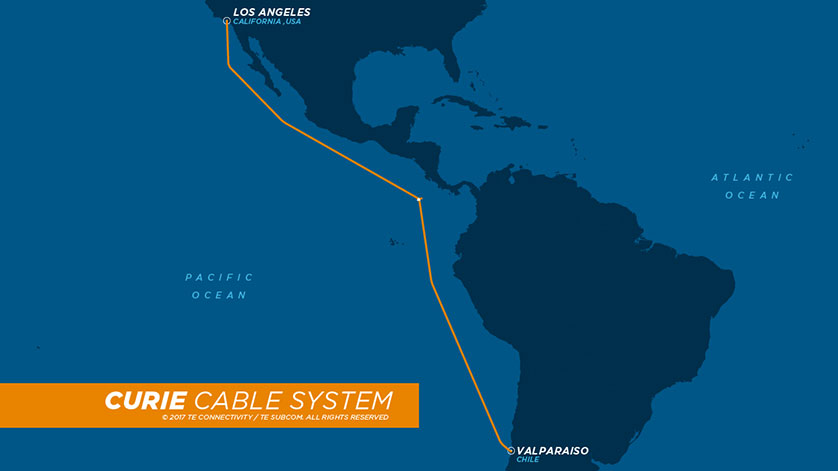Curie Cable to Connect California and Chile