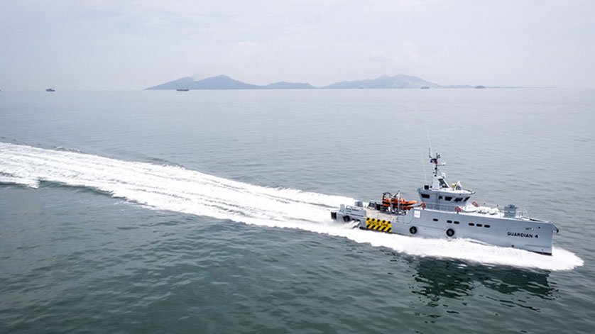 Damen Delivers 4th 3307 Patrol Vessel to Homeland in Nigeria