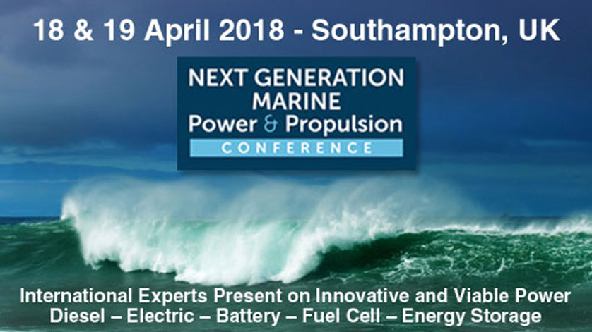 NEXT GENERATION Marine Power & Propulsion Conference