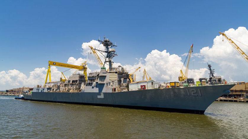 U.S. Navy Launches the Future USS Frank E. Petersen Jr.