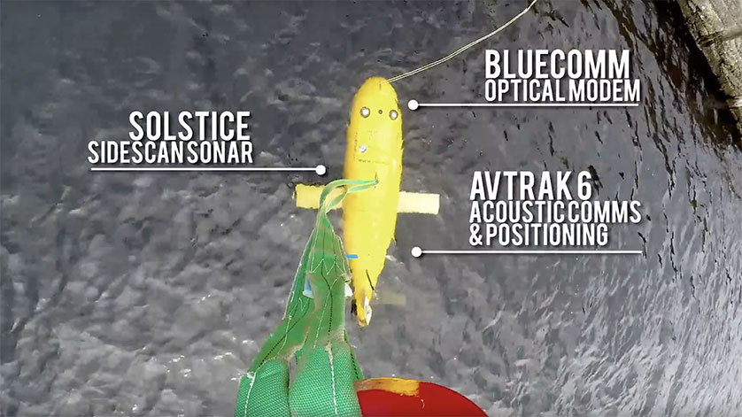 Joint Subsea-Surface Survey Operations Demonstrated