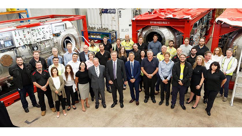 JFD Delivers Submarine Rescue System to Australia