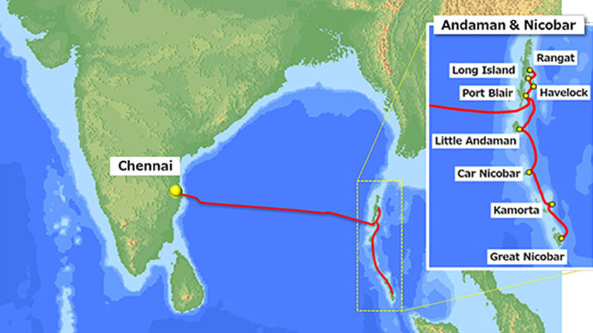 NEC to Build Submarine Cable System in India