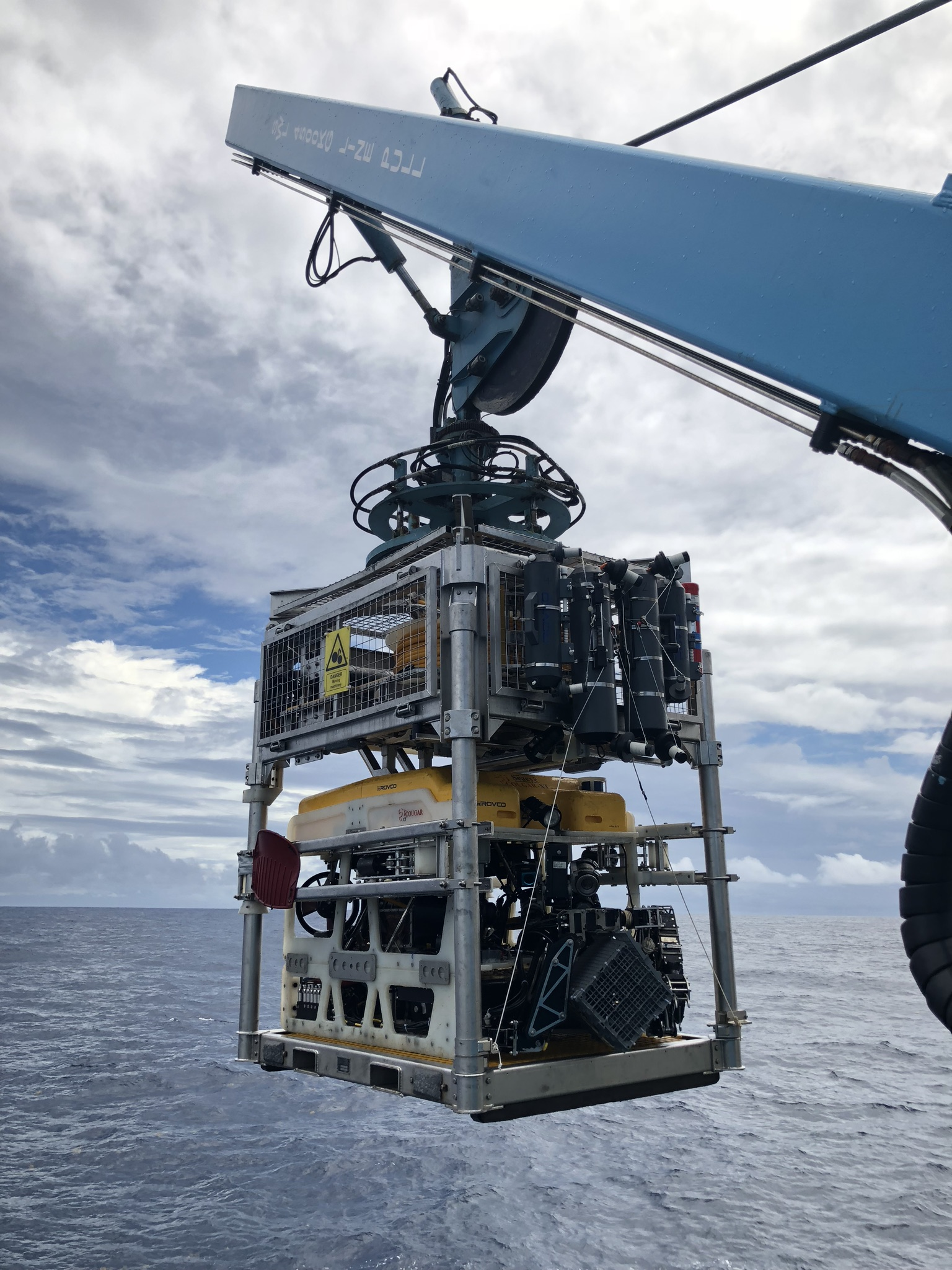 Rovco ROV Greenpeace Reef Project