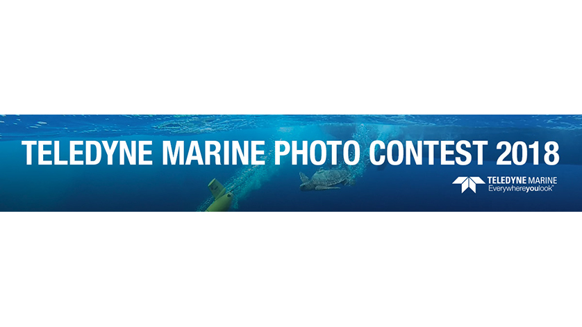 Teledyne Marine 2018 Photo Contest and Voting Now Underway