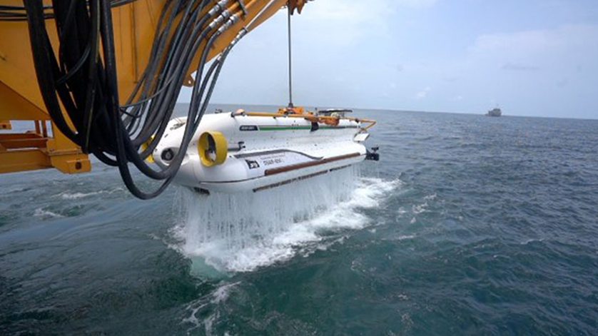 JFD Completes First Phase of Open Sea Trials of DSRV for Indian Navy