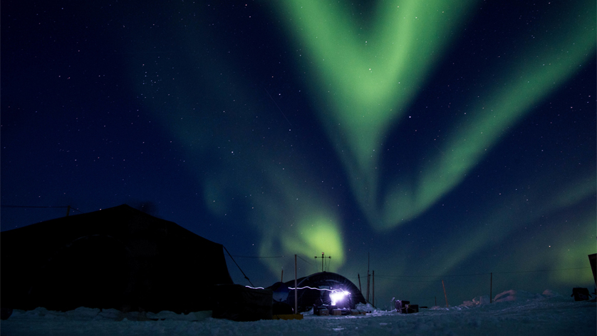 Arctic Ice Camp SKATE Supports US and UK Submarines