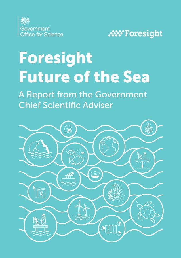 2Foresight report future of the sea 2018 front cover