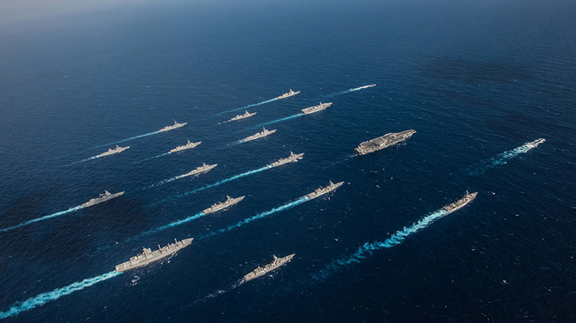 Ronald Reagan Strike Group Concludes Keen Sword 2019