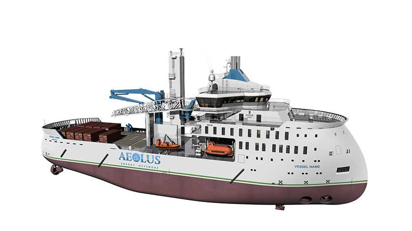 Ulstein Awarded Design Contract for Offshore Wind SOV