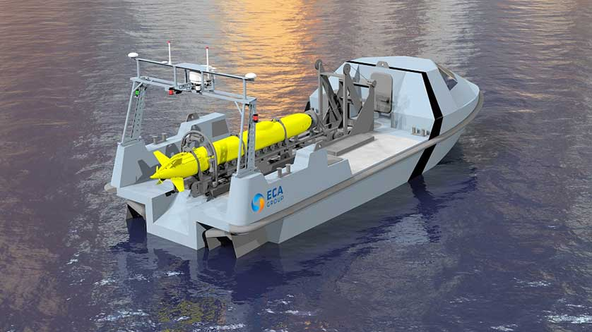 ECA Group Unveils USV to Counter Mines