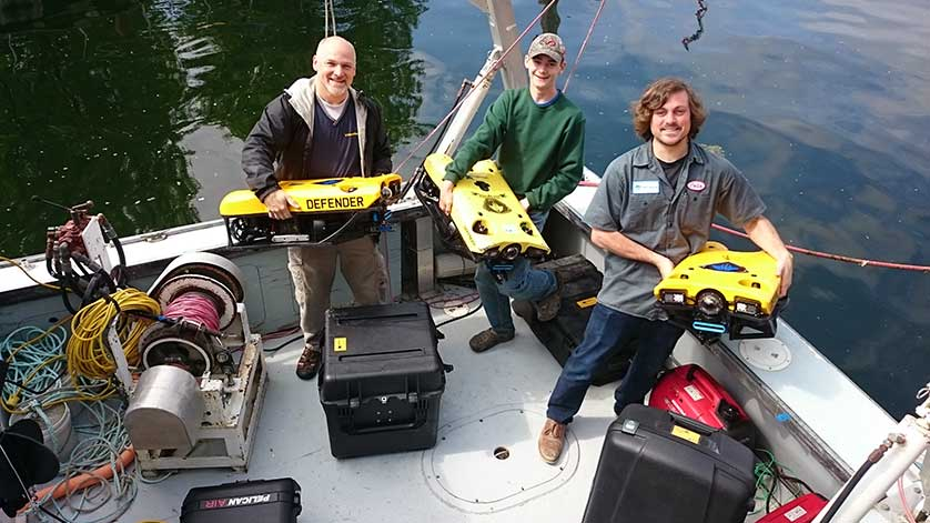 Nortek and VideoRay Team up to Make ROVs Small and User-Friendly