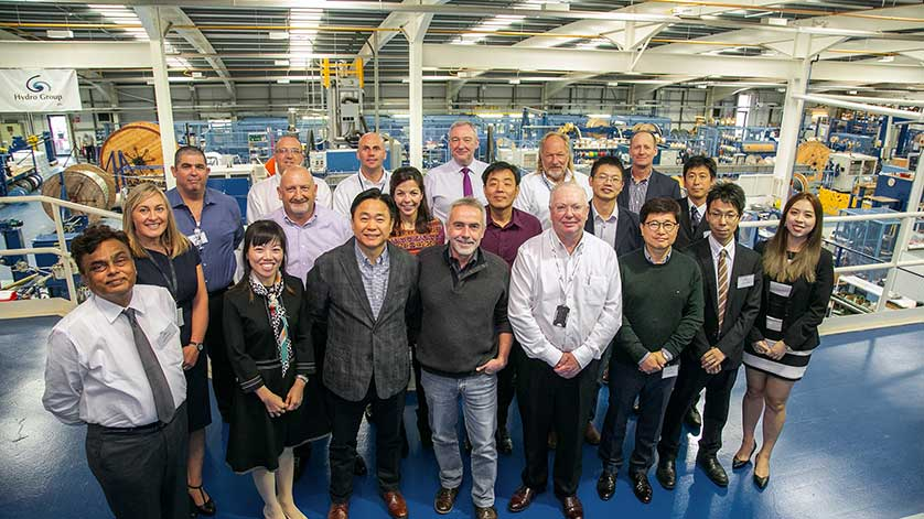 Hydro Group Shines a Spotlight on Global Business