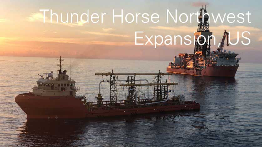 BP Starts Thunder Horse Northwest Expansion Project Ahead of Schedule