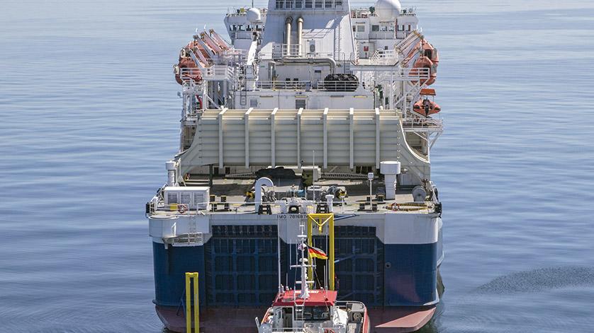 New MV Bluefort Boat Landing Cuts Transfer Bottleneck   Energy   News