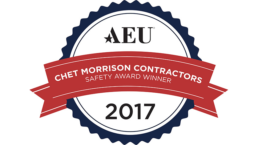 Chet Morrison Contractors Wins National Excellence Safety Award