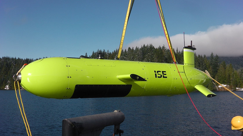 6000m ISE Explorer AUV Sold to COMRA