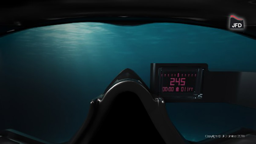 JFD & US Navy Unveil Advanced Combat Diver Navigation Module