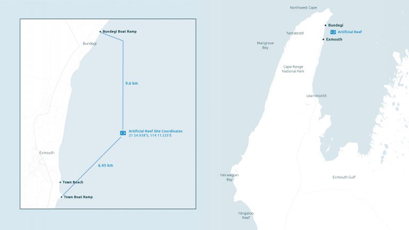 1 Exmouth artificial reef map 768x432