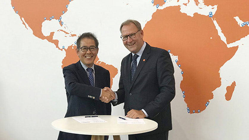 Furuno and Radio Holland Prolong Distributorship Agreements