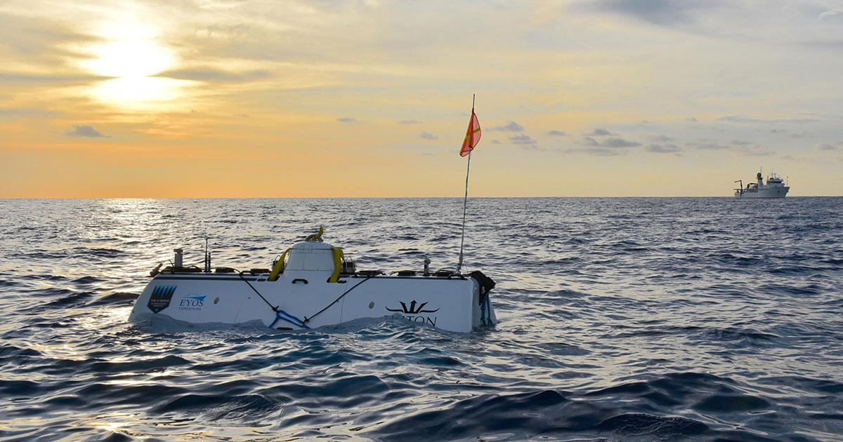 Deep Sea Pioneer Makes First to Dive to the Deepest Point in the Indian Ocean