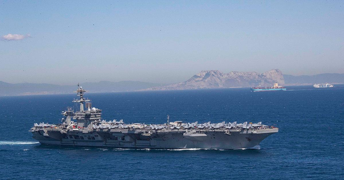 U.S. Sends Two Carrier Strike Groups to the Mediterranean