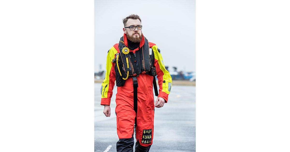 Centrica First to Upgrade to Survitec's Tri-Approved Immersion Suit