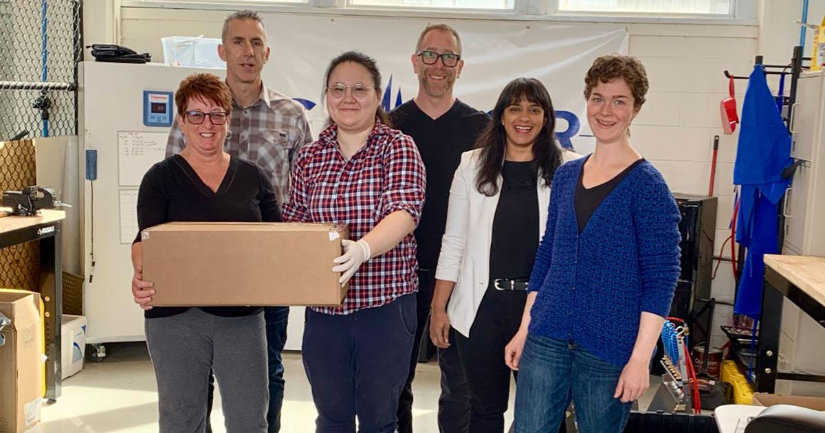 Sensor Technology Ships First Hydrophones From its new Nova Scotia Facility