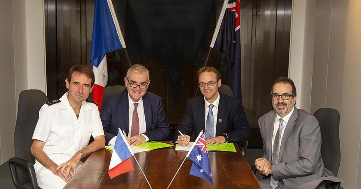 AMOG & ECA GROUP form French-Australian Joint Venture