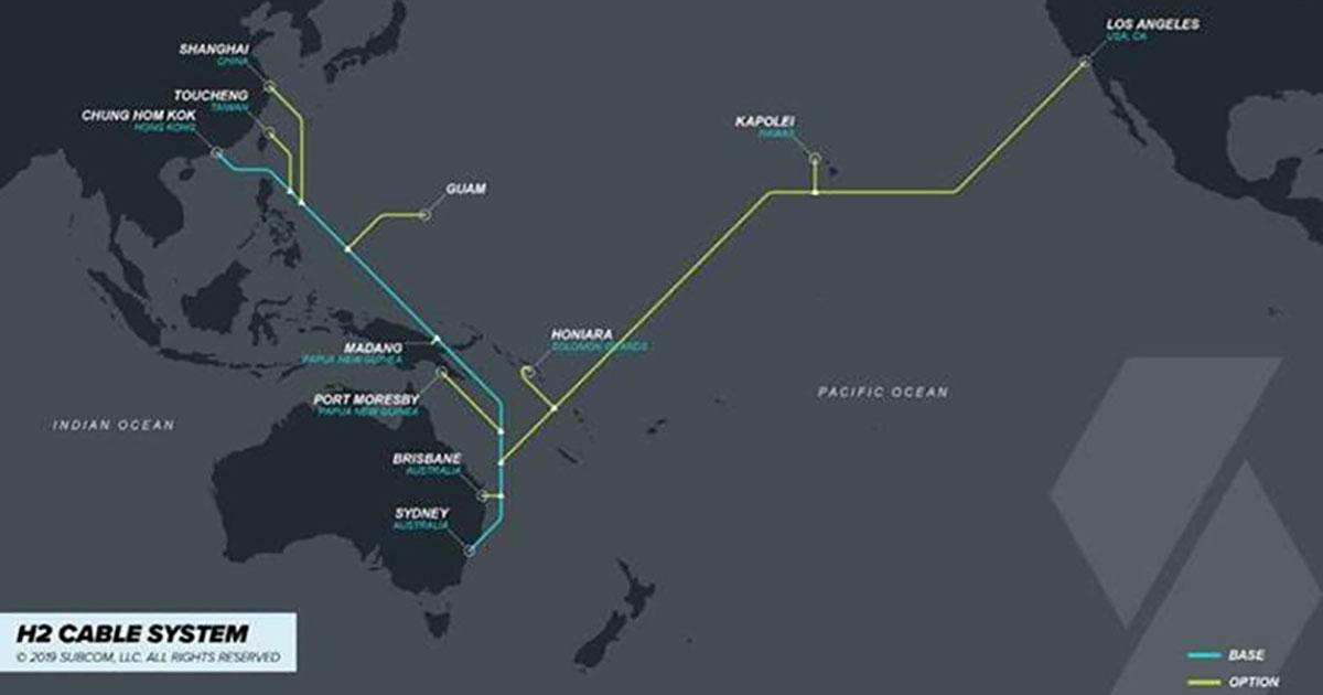 H2 Cable and SubCom Sign H2 Submarine Cable Contract