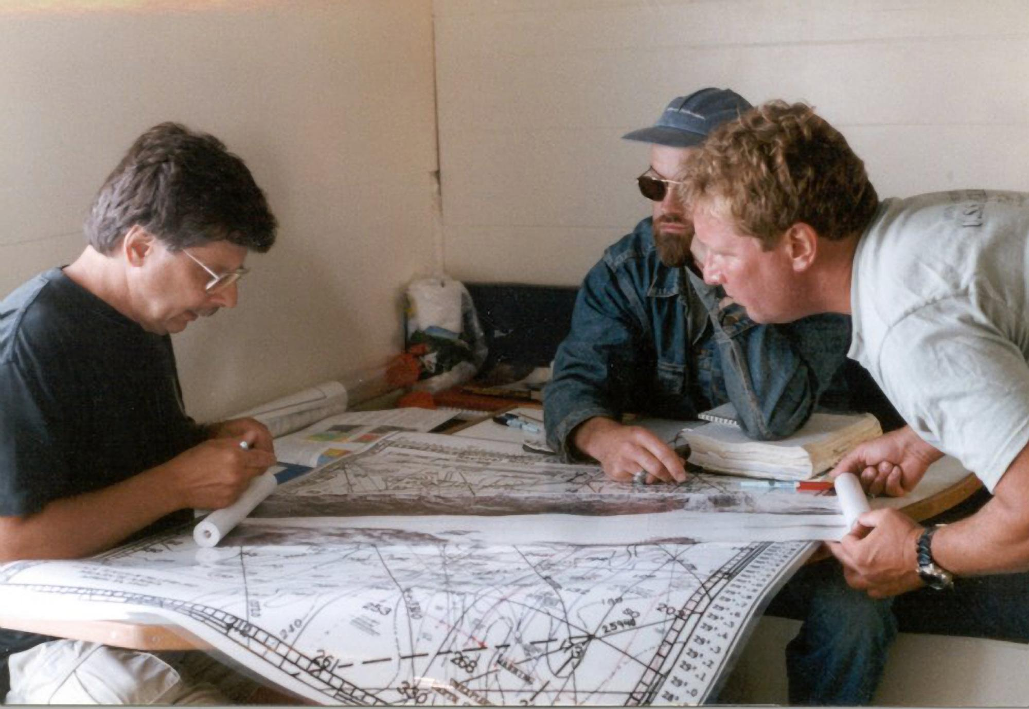 Embed 2 July 2000 Search Lawton Kozak Plotting Search Area