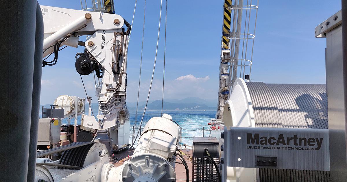 MacArtney Delivers Fifth Ocean Research Vessel LARS
