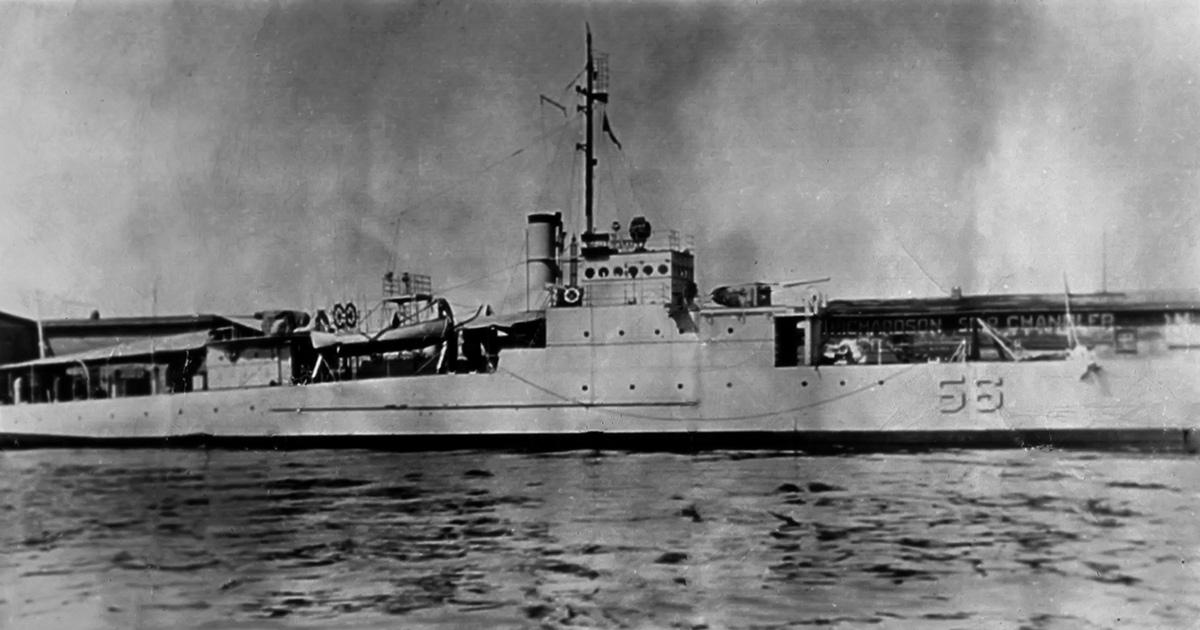 US Navy Ship, USS Eagle PE-56, Lost in Action during WW II Found Off New England