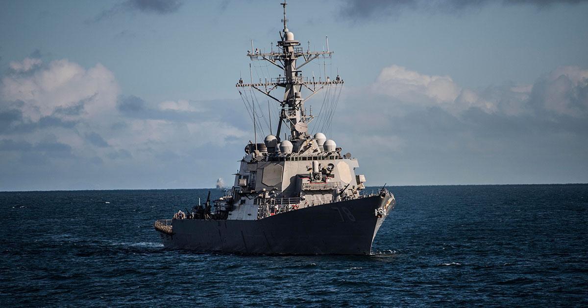 USS Porter on Route to Black Sea