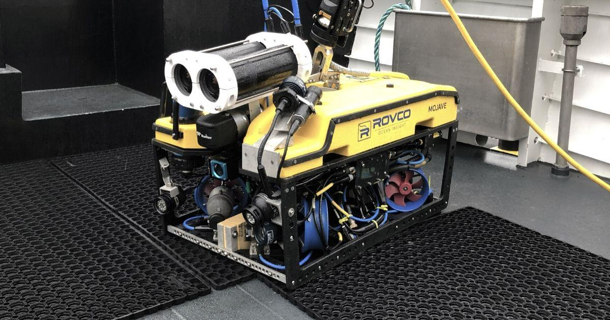 Rovco Launches World's First Live 3D Subsea Streaming Technology