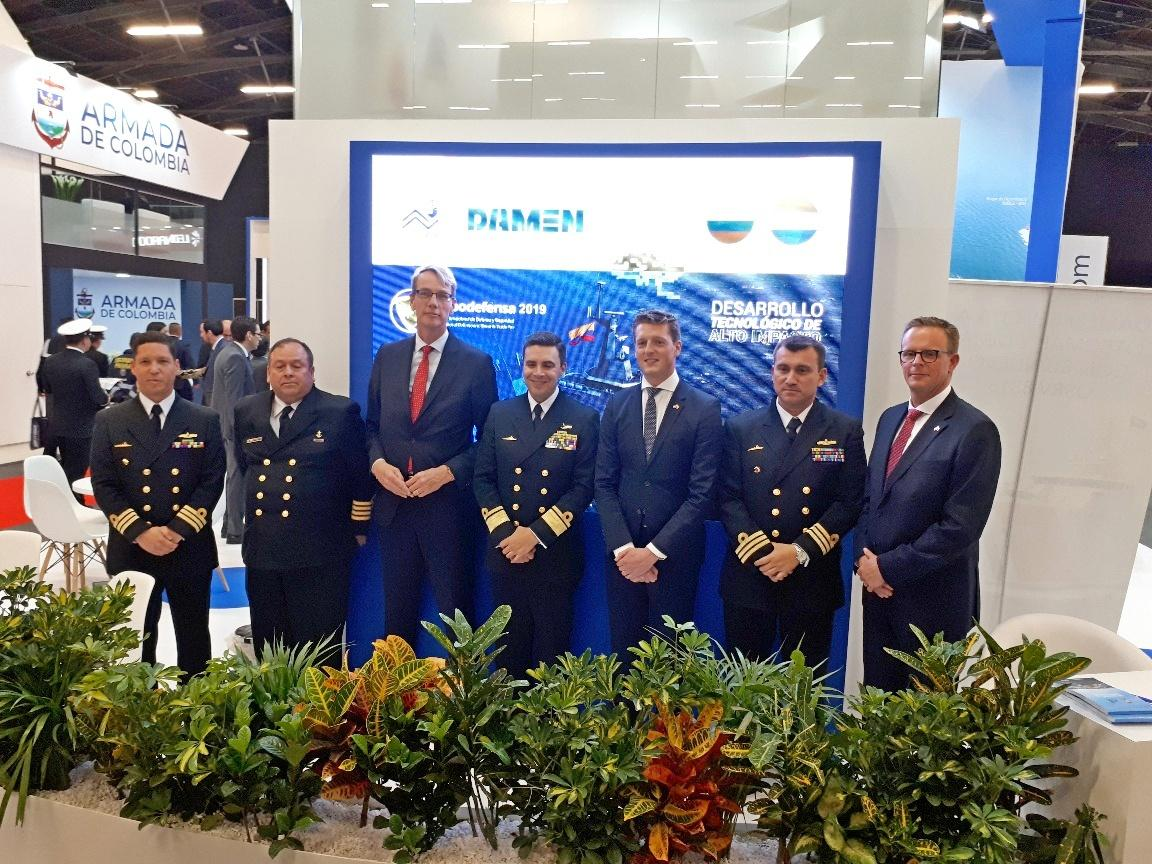 2 Damen signs contract with Cotecmar for DTC hydrographic research vessel
