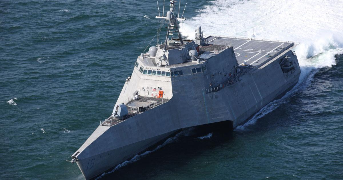 Navy to Commission Littoral Combat Ship Tulsa