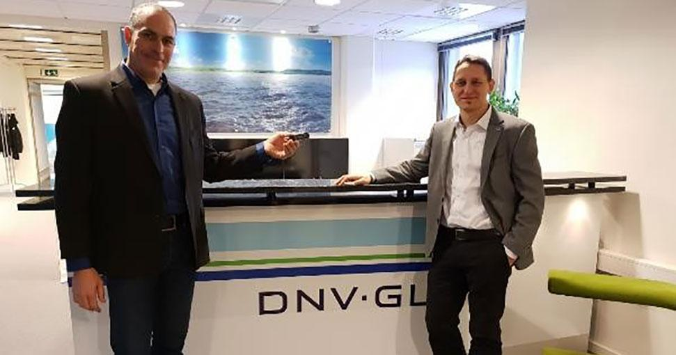 DNV GL Awards Naval Dome Secure Endpoint Cyber Security Type Approval Certification