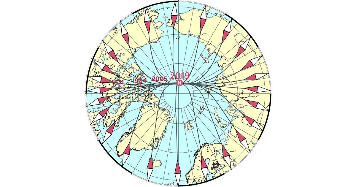 Magnetic Model Essential for Modern Ocean Navigation Updated
