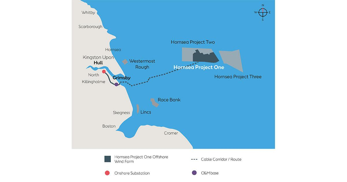 First Turbine at Hornsea One Offshore Wind Farm Producing Electricity