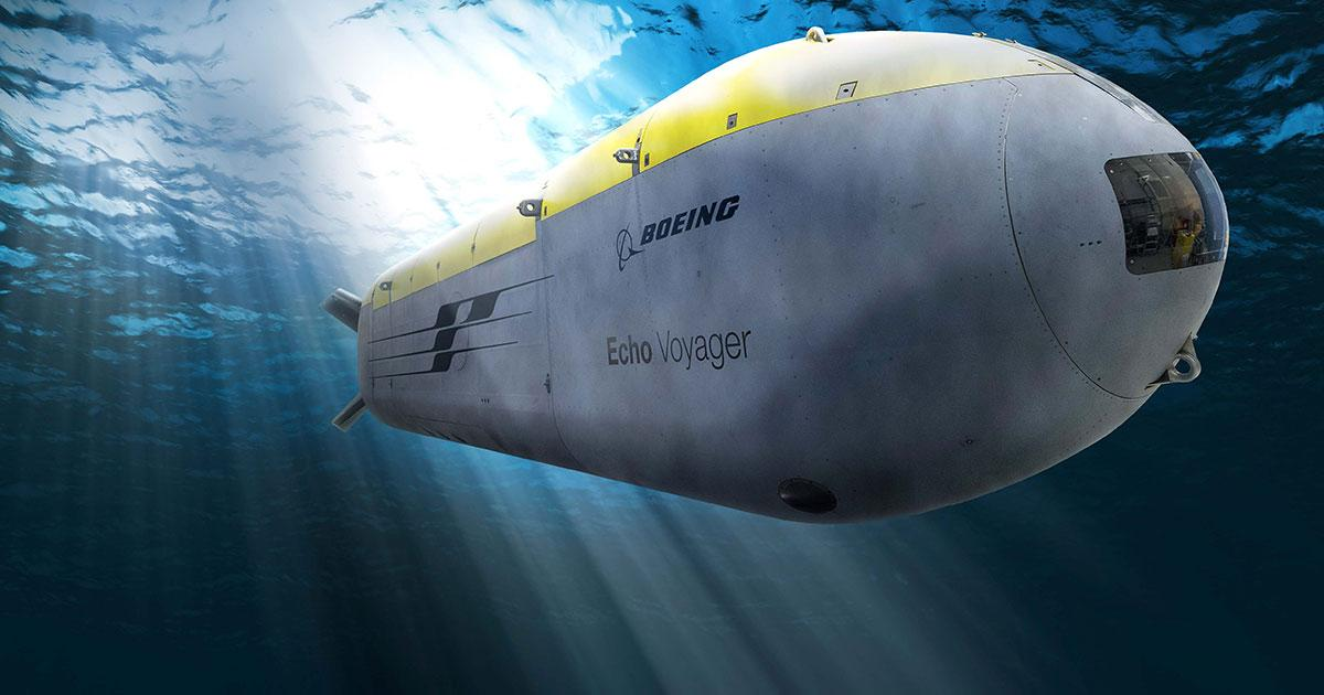 Navy Awards Boeing $43 Million to Build Four Orca XLUUVs