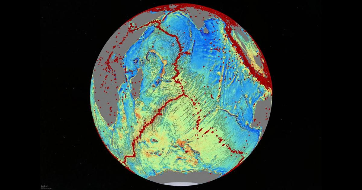 Scientist Awarded for Sea-Floor Mapping
