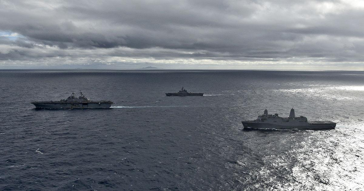 Cooperative Deployment in East China Sea