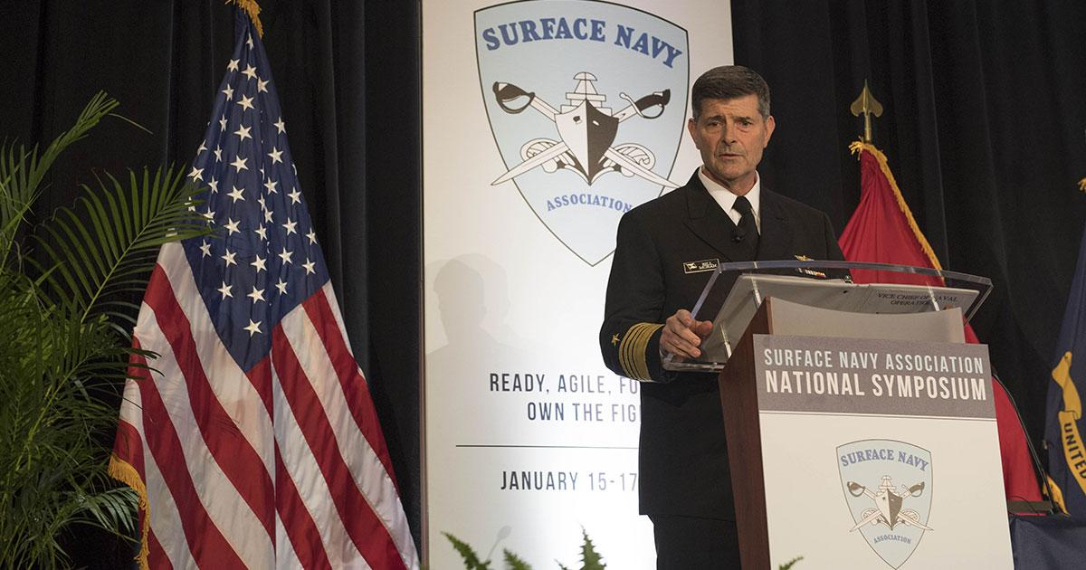 Navy Leadership Focuses on Sea Power Innovation
