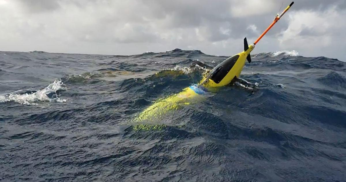 Ocean Gliders on Mission to Fine-Tune Hurricane Forecasts